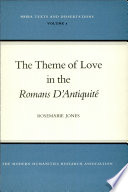 The Theme of Love in the Romans D'antiquité