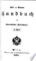 Hof- und staats-handbuch der Österreichisch-ungarischen monarchie ...