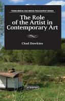 The Role Of The Artist In Contemporary Art : which define the contours of the contemporary...