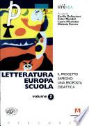 Letteratura  Europa  scuola