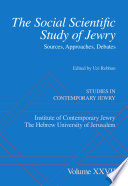 The Social Scientific Study of Jewry