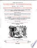 Volkoomer wiskundig woorderboek