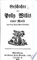 Geschichte der Polly Willis einer Waise