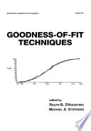 Goodness of Fit Techniques