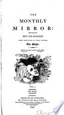 The Monthly Mirror  Reflecting Men and Manners