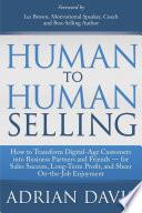 Human To Human Selling book