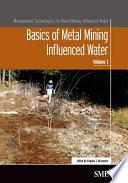 Basics of Metal Mining Influenced Water