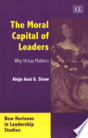 The Moral Capital Of Leaders : ...