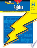Power Practice  Algebra  Gr  5 8  eBook