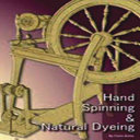 Hand Spinning and Natural Dyeing Wool For Needlework Projects Including