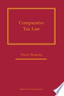 Comparative Tax Law