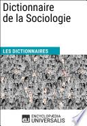 illustration du livre Dictionnaire de la Sociologie