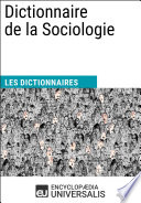 illustration Dictionnaire de la Sociologie
