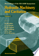 Hydraulic Machinery And Cavitation   Proceedings Of The Xix Iahr Symposium  In 2 Volumes
