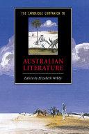The Cambridge Companion to Australian Literature