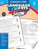Common Core Language Arts 4 Today  Grade 3