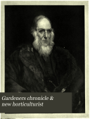 Book Gardeners Chronicle & New Horticulturist