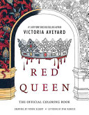 Red Queen  The Official Coloring Book
