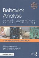 Behavior analysis and learning : a biobehavioral approach /