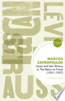 Lacan and Levi Strauss or The Return to Freud  1951 1957