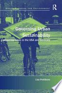 Governing Urban Sustainability