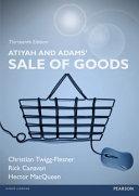 Atiyah and Adams  Sale of Goods
