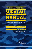 The Legal Research Survival Manual   Video Course