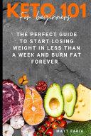 Keto Diet 101 For Beginners