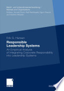 Responsible Leadership Systems