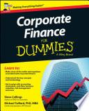 Corporate Finance For Dummies   UK