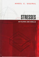 STRESSES IN PLATES ANS SHELLS  2nd edition  Edition en anglais