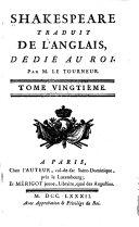 Les tragédies, 5 tomes