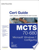 MCTS 70 680 Cert Guide