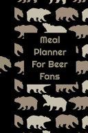 Meal Planner For Beer Fans