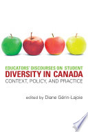 Educators  Discourses on Student Diversity in Canada