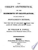 The Child s Arithmetick