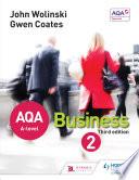 AQA A Level Business 2 Third Edition  Wolinski   Coates