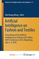 Artificial Intelligence On Fashion And Textiles