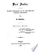 C. Spindler's werke: Der jude