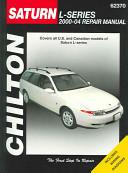 Saturn L Series 2000 04 Repair Manual