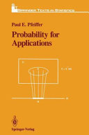 Probability for applications