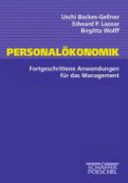 Personalökonomik