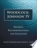 Woodcock Johnson IV