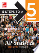 5 Steps to a 5 AP Statistics  2008 2009 Edition