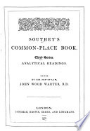 Southey s Common place Book  Special collections