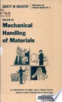 Mechanical Handling of Materials Book PDF