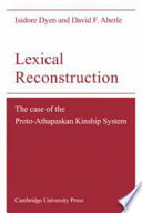 Lexical Reconstruction
