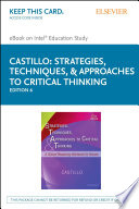 Strategies  Techniques    Approaches to Critical Thinking