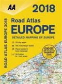 2018 Road Atlas Europe (Spiral-Bound)