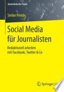 Social Media f  r Journalisten